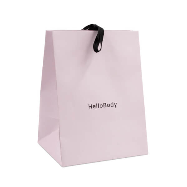 Front of the big HelloBody bag