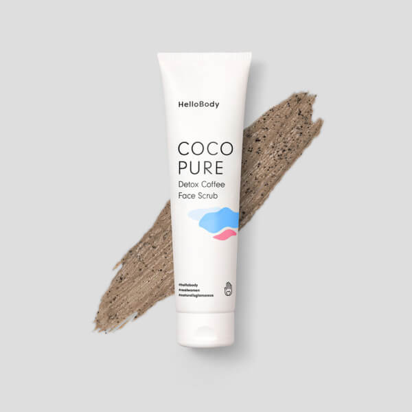 Coco Pure Detox Coffee Face Scrub