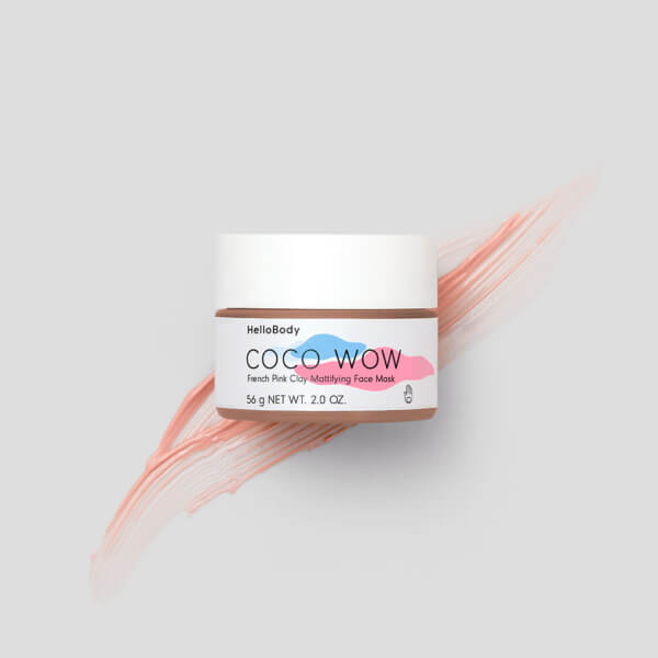 Coco Wow French Pink Clay Mask